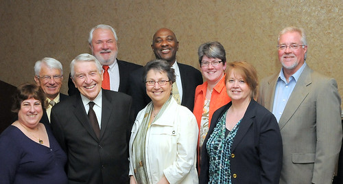 Dr. Jack Scott and members of NAFSA's Community college members