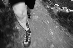 hike air ✔ (Toni_V) Tags: bw abstract motion blur me monochrome schweiz switzerland blackwhite jump movement europe hiking running run schwarzweiss ich 2009 randonnée d300 sigma1020mm toniv
