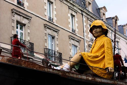 Navigation dans les rues // Sailing the streets