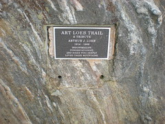 74 - Art Loeb Plaque