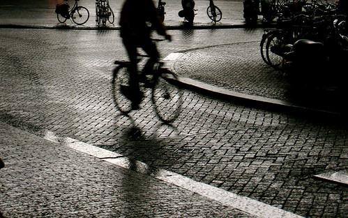 Artsy street moment in Amsterdam