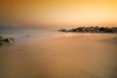 Softly (Alfredo11) Tags: longexposure sea sky paisajes seascape beach water silhouette mar sand agua rocks playa arena cielo alfredo silueta rocas ptovallarta nikod300 nikon1224mm28