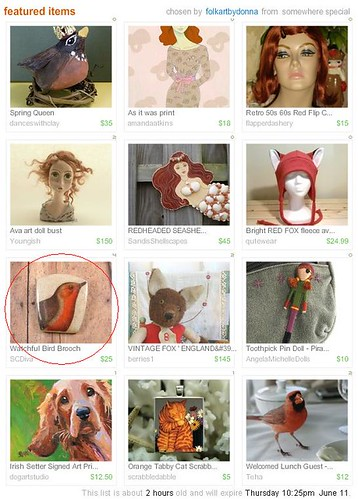 FolkArtByDonna's Seeing Red Treasury