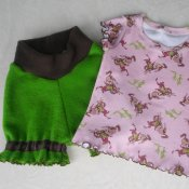 Inspiration 'Bloomers' and Horse print Tshirt (12-18mo/med)