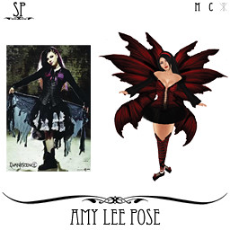 Amy Lee Pose