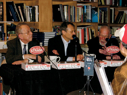 Al Jaffee & Arnold Roth talk Humbug at the Strand Bookstore, NYC, 4/14/09
