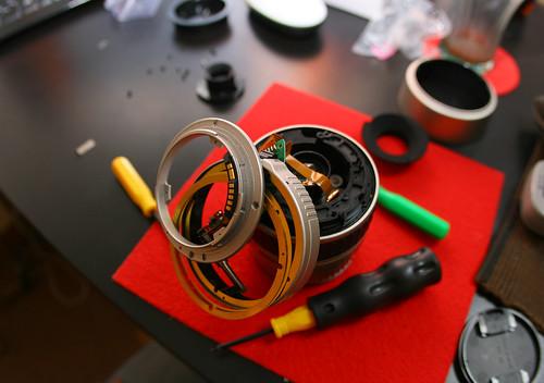 Broken 28-80mm lens.