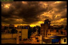 House HDR (Bharathi mainthan) Tags: sky india house clouds photoshop buildings nikon flickr bangalore picasa 1855 karnataka hdr cs3 bharathi dhina d40 photomatrix dhinawithlove wwwdhinawithloveconr bharathimainthan dhinathayalan