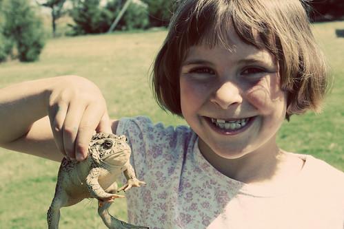 Poor frog.