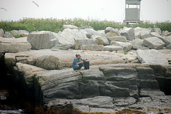 Egg Rock Island Researcher