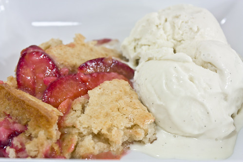 Detail Plum Cobbler