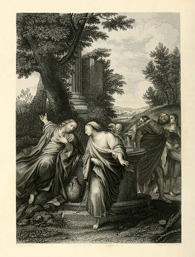 010- Jesus y la Samaritana- Caracci
