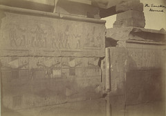 """Karnak. """"The Sanctuary"""" (Cornell University Library) Tags: boats ruins kings temples gods symbols mythology inscriptions hieroglyphics wallpaintings religiousbuildings cornelluniversitylibrary imaginarymythologicalcreatures karnakthebesegypt culidentifier:lunafield=accessionnumber culidentifier:value=155309001489"""