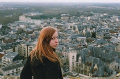 Tam & Bourges (Ludovic Macioszczyk Photography) Tags: tam bourges nikon fm 135 fuji 400 iso winter city light hair france ludovic macioszczyk analog photography film pellicule no flash fd 50mm 2 vintage camera photo photographie argentique keep alive ludos photographs dof 2009 35mm natural life shoot art people colors color portrait bokeh picture world photographe cold froid tamara love sweet sweetheart girl fille cheveux exposure négatif développement scan 1 3 4 5 6 7 8 9 appareil lumière vie © most interesting