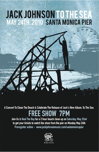 Jack Johnson Santa Monica Concert