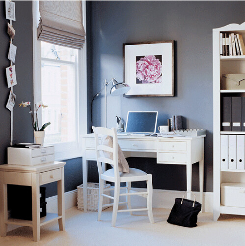 Sophisticated Monday - Home Office via housetohome