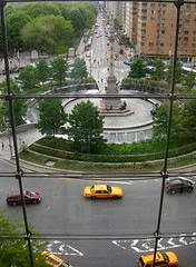 (lily_bart) Tags: nyc newyorkcity columbus manhattan taxi columbuscircle
