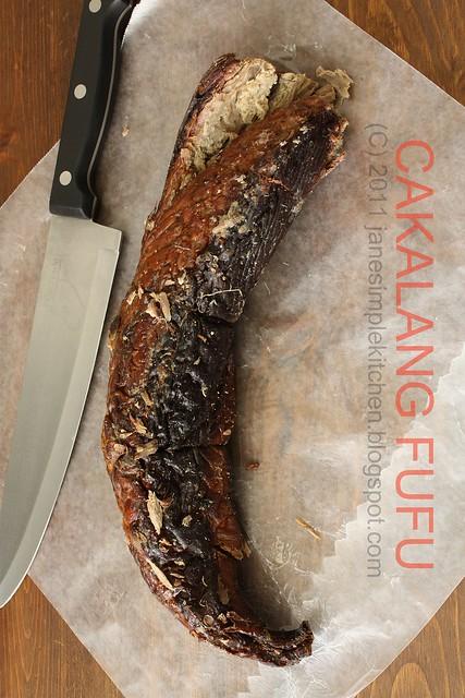 Cakalang Fufu (Smoked Tuna Fish)