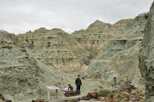 John Day National Monument: Sheep Rock - Blue Basin