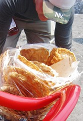 Hojuelas in the bag (rworange) Tags: guatemala frieddough guatemalanfood hojuelas