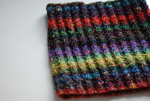 an old cowl for ravelry