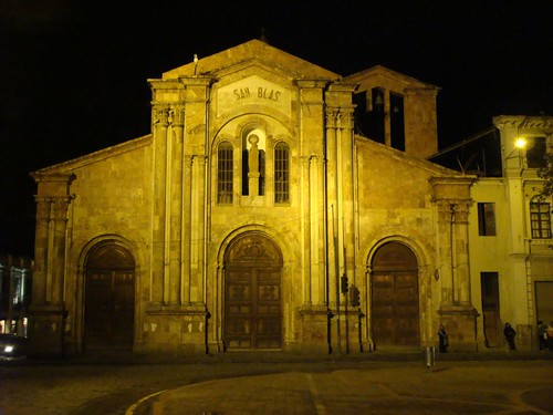 Church in San Blas, Cuenca...