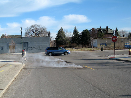 A Mild Case of Detroit-Style Steaming Manholes