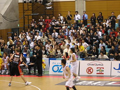 IMG_3112 (glazaro) Tags: city basketball japan japanese asia stadium arena dome  osaka sendai kansai kadoma namihaya bjleague evessa 89ers