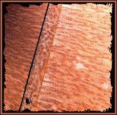 Wheelbarrow (tina negus) Tags: abstract macro rust diagonal wheelbarrow rustrules