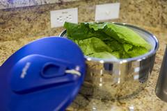 Before Spinning Lettuce