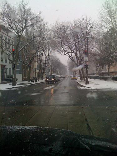 Frederick - snow.
