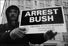 "G. Gordon Liddy says ""Arrest Bush"" (The Voice of Eye) Tags: people usa history sign outdoors photography democracy dc washington neworleans political politics culture documentary identity portraiture signage editorial africanamerican historical humanrights enthusiastic activist symbolic streettheater symbolism greyscale sociology humaninterest hopeful participation barackobama culturaldevelopment liberated actuality lifeasart environmentalportraiture noapologies craigmorse culturesubculture washingtondcdistrictofcolumbia ascendent blackandwhiteblackandwhitebw blancoynegroblancoynegro thevoiceofeye neroebianconeroebianco noiretblancnoiretblanc pretoebrancopretoebranco schwarzesundweischwarzesundwei zwarteenwitzwarteenwit fromthescene customsandtradition presidentialinauguration2009"