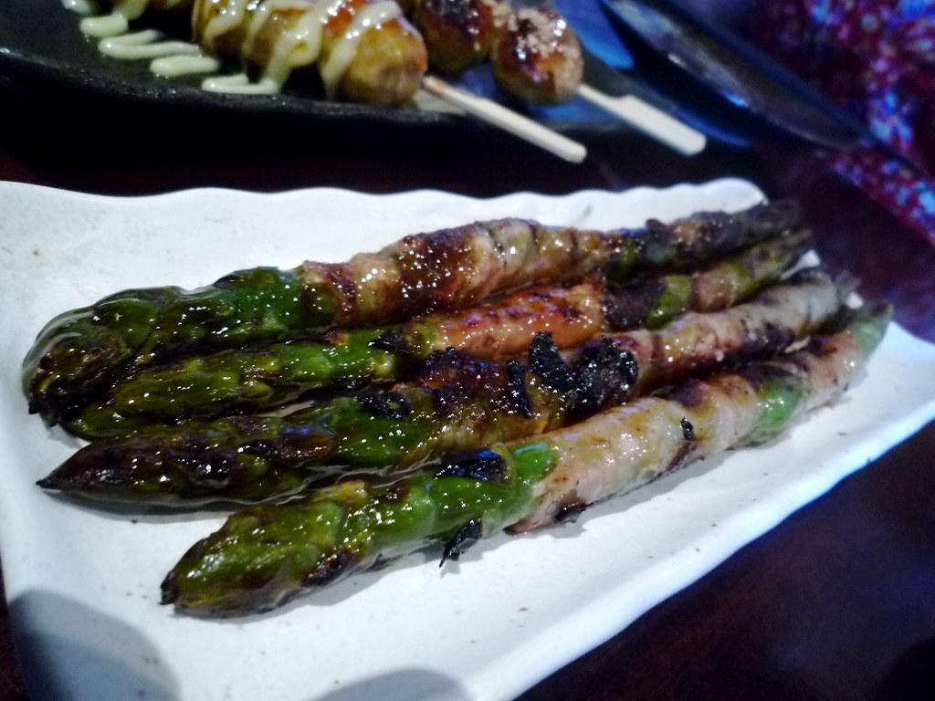 Pork asparagus