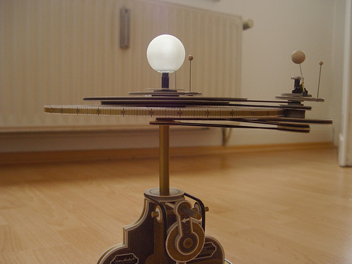 Orrery - Sideview