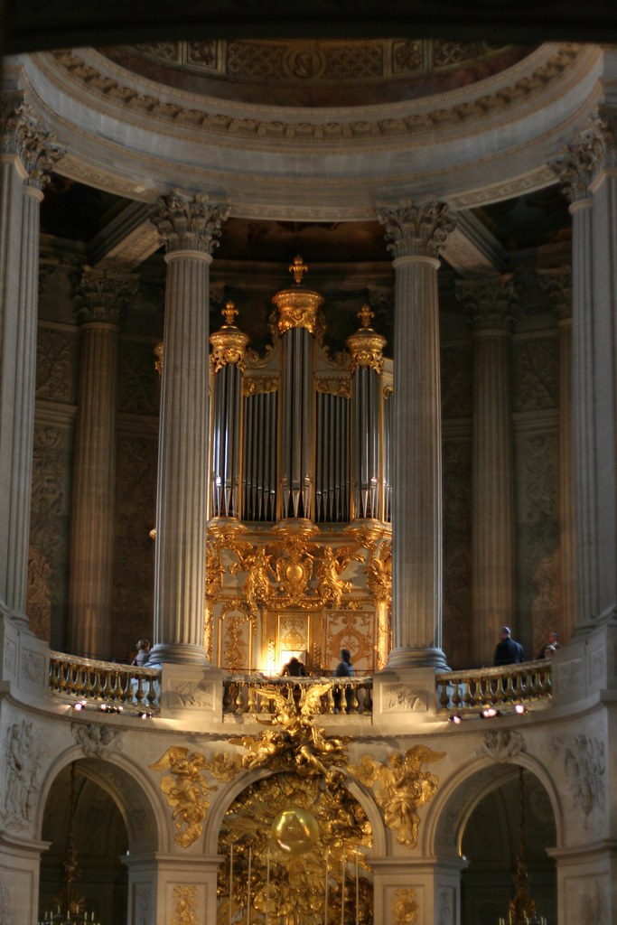 chapel of the Palace of Versailles