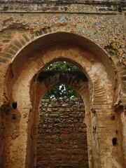 Arch with tilework (lotor-matic) Tags: ruins arch roman sala morocco maroc rabat zellij salacolonia