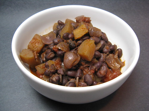 Black Bean & Squash Chili