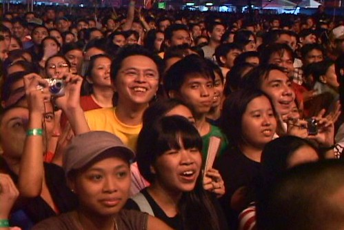 Me at Eraserheads Reunion Concert DVD - 2