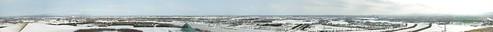 モエレ山からの展望