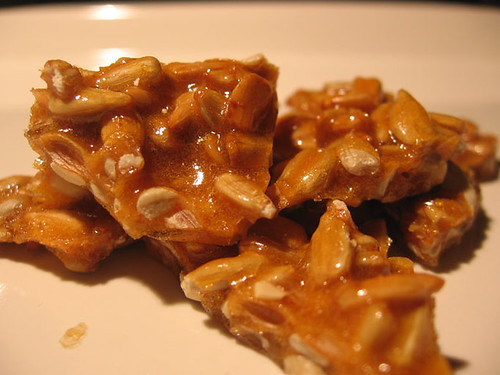 sunflower honey brittle
