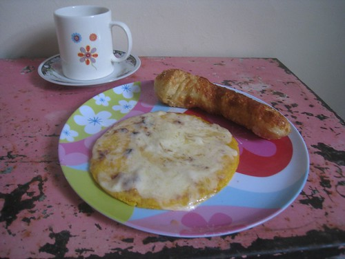 Typical Colombian student food