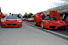 F50 & Enzo (ngel lvarez) Tags: italian nikon track day ferrari exotic enzo 2009 scuderia f430 v12 f50 d60 novitec fstival