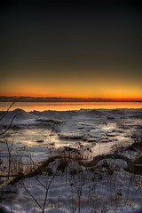The Last of the Available Light (Insight Imaging: John A Ryan Photography) Tags: longexposure winter sunset toronto ontario ice night landscape lakeerie aficionados pentaxk10d justpentax wwwinsightimagingca johnaryanphotography