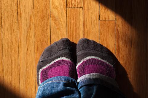 The Obligatory Sock Self-Portrait