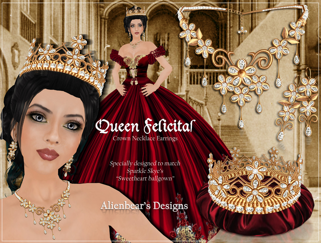 Gold Queen Felicitas Poster final