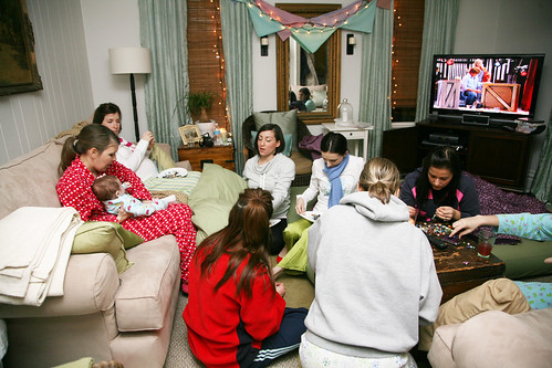 slumber party at sarah's