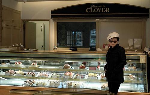 Blue Velvet at Patisserie Clover, Japan by you.