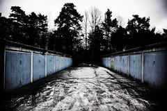 Vstertorp (Ola Jacobsen) Tags: street winter sky urban snow car track sweden stockholm garage parking sverige hgersten vstertorp canoneos5dmarkii canonef241054lis powmerantusenord