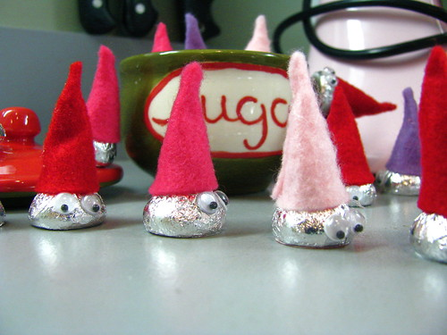 Gnomes in the sugar bowl!