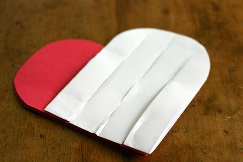 Woven Paper Valentine Hearts - 6